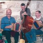 mit Fredy Hess und Gery Horat am Bass