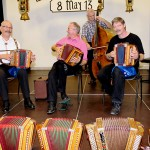 Seebi mit Johann Buchli, Manfred Rösli und Ruedi Zurfluh am Bass