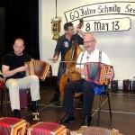 Iwan Meier, Seebi und Mark Schuler am Bass