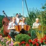 Eidg. Musikfest in Küssnacht mit Xaver und Hans Gwerder und Mark Schuler am Bass 1991