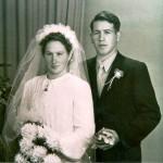 Hochzeitfoto Eltern von Seebi 1950