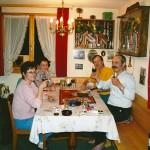 Jassen in der Unteregg mit Beatrice und Erich Betschart und Schwester Käthy 1995