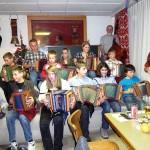 Klausfeier im Rest. Hirschen Goldau mit Örgelischüler
