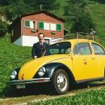 Posttour mit VW Käfer 1986