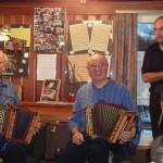 Mit Johann Buchli und Kari Schorno im Rest. Windstock