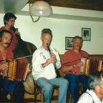 Schmidig-Gwerder mit Mark Schuler am Bass und Walter Gyger an der Klarinette