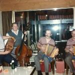 Schmidig-Gwerder mit Sity Domini und Schwinger Leo Betschart im Braustübli, Zug 1986
