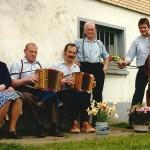 Tante Rosa und Onkel Seebi mit Xaver Hospenthal und Mark Schuler am Bass 1986