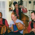 Trio Seebi, Mark und Iwan mit Josef Gisler (Axiger Sepp) 1998