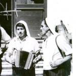 Vater Josef mit Karl von Hospenthal (Rigitüüfel) 1940