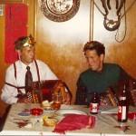 Vater Josef und Onkel Paul 1973