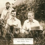 Vater & Sohn Schmidig mit Hans Hubler am Bass, 1980
