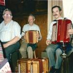 Vater & Sohn Schmidig und Tobias Betschart am Klavier - Frühschoppen im Bären, Goldau