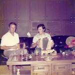 bei Fränk Schmidig (Gumel) 1976