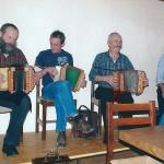 mit Alois Lüönd, Beni Amrhein und Otto Teuscher am Bass
