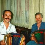 mit Bruno Häcki 1992