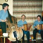 mit Daniel Gwerder und Mark Schuler, Krienserhalle Kriens 1987