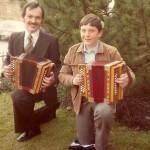 mit Firmgötti Daniel Gwerder 1983