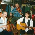 mit Frieda und Beni Grimm mit Ivo Voltier am Bass, Rest. Post Zürich Seebach 1997
