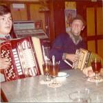 mit Gribsch Xaver in der Gartenlaube, Arth 1971