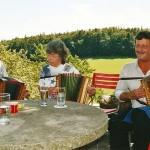 mit Hans Estermann und Helen 2003
