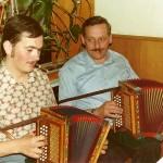 mit Hans Gwerder 1977