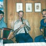 mit Isidor Schuler und Walter Gyger im Rest. Rigi in Baar