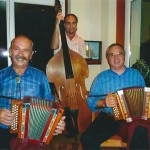 mit Johann Buchli und Kari Schorno