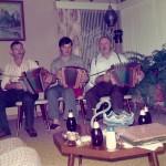mit Josef Inderbitzin und Rees Gwerder 1976 in Amerika