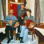 mit Leandra Meyer und Ruedi Zurfluh im Rest. Eisenbahn, Goldau 2005