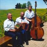 mit Ludi Hürlimann und Irène Weber im Pfaffenboden, Walchwilerberg