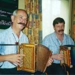 mit Manfred Rösli im Rest. Grütli, Cham 2008