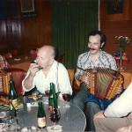 mit Martin Nauer und Josef-Maria Nideröst (Geissbure-Maritsch)