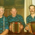 mit Onkel Seebi und Tobias Betschart im Rest. Bären, Goldau
