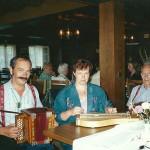 mit Rösli Wallimann und Vater Josef