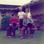mit Rees Gwerder bei Familie Suter in Californien 1976