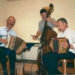 mit Seebi Schibig und Gery Horat am Bass 2004