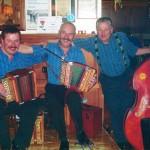 mit Seebi Zgraggen und Xaver Schuler, Alpstubli Stoos 2009