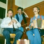 mit Sigi Oswald und Mark Schuler am Bass, Metzgerhalle Zürich 1990