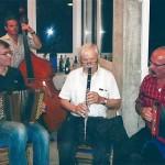 mit Thomas Marthaler, Pascal di Marco und Oswald Zurfluh am Bass