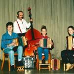 mit Ursi Nauer, Leandra und Sascha Meyer 1998
