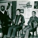 mit Vater Josef und Sity Domini am Bass