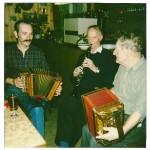 mit Walter Gyger und Xaver Horat (Gribsch) 1983