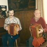 mit Xaver Horat (Gribsch Xaveri) Frühschoppen im Rest. Bären, Goldau